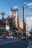 59th Street/Ed Koch överbryggar Royaltyfri Fotografi