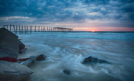59th street Pier in Ocean City NJ Stock Images