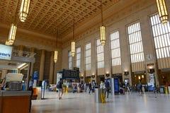 30th Street Station in Philadelphia, Pennsylvania Stock Photo