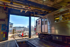 240th Street Train Yard (Van Cortlandt Yard) Royalty Free Stock Images