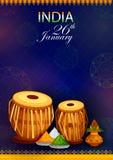 26th Styczeń, Szczęśliwy republika dzień India Obraz Royalty Free