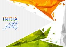 26th Styczeń, Szczęśliwy republika dzień India Obraz Stock