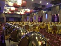 8th 2018 Styczeń, Szmaragdowa sala balowa Selayang Selangor przed Obiadową funkcją Obraz Royalty Free