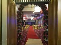 8th 2018 Styczeń, Szmaragdowa sala balowa Selayang Selangor przed Obiadową funkcją Obrazy Stock