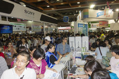 14th Taipei Multimedia,Cloud Industries & Marketing Expo Stock Photos