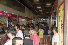 14th Taipei multimedia, molnbranscher & marknadsföringsexpo Royaltyfria Foton