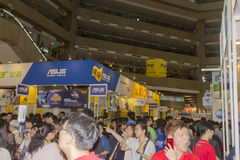 14th Taipei multimedia, molnbranscher & marknadsföringsexpo Royaltyfri Foto