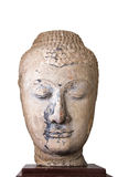 16th - 17th Century A.D. head from a buddha image in Ayutthaya Royalty Free Stock Photo