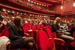 55th Thessaloniki International Film Festival at Olympion Cinema Stock Image