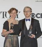 69th Tony Awards anual em 2015 Imagens de Stock Royalty Free