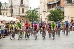 70th Tour de Pologne - 2013 Royalty Free Stock Photo