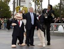 45th U S President Donald Trump Royaltyfria Foton