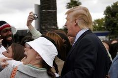45th U S President Donald Trump Royaltyfri Bild
