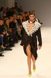 39th Ukraiński moda tydzień Inkasowa etykietka Jeden Fotografia Royalty Free