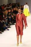 39th Ukraiński moda tydzień Inkasowa etykietka Jeden Obraz Royalty Free