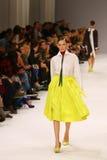 39th Ukraiński moda tydzień Inkasowa etykietka Jeden Zdjęcia Stock