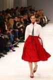 39th Ukraiński moda tydzień Inkasowa etykietka Jeden Zdjęcie Royalty Free