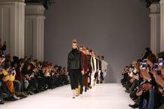 40th Ukrainian Fashion Week in Kyiv, Ukraine Stock Images