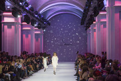 39th Ukrainian fashion week in Kyiv Stock Photos
