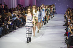 39th Ukrainian fashion week in Kyiv Royalty Free Stock Photo