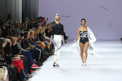 39th Ukrainian Fashion Week in Kyiv, Ukraine Stock Photo