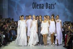 39th Ukrainian fashion week in Kyiv Royalty Free Stock Photos