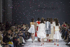 39th Ukrainian fashion week in Kyiv Royalty Free Stock Image