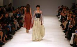 39th Ukrainian Fashion Week in Kyiv, Ukraine Stock Photo