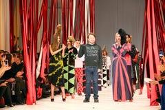 40th ukrainska modevecka i Kyiv Arkivbilder