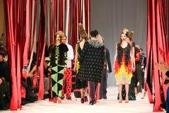 40th ukrainska modevecka i Kyiv Arkivbild