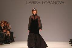 40th ukrainska modevecka i Kyiv, Ukraina Royaltyfri Fotografi