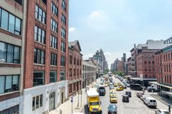 14th ulica NYC obrazy stock