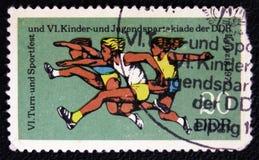6th unge- och tonårspartakiad, circa 1977 Arkivfoto