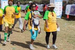 13th upplaga av den stora etiopierkörningen Fotografering för Bildbyråer