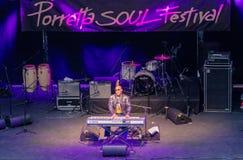 30th upplaga för Porretta andafestival, Porretta Terme 20 till 23 Juli Royaltyfria Bilder