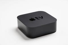 4th utveckling för Apple TV Fotografering för Bildbyråer