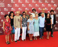 70th Venedig filmfestival Arkivfoton