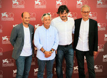 70th Venedig filmfestival Royaltyfria Bilder
