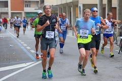 28th Venicemarathon: сторона дилетанта Стоковые Фотографии RF