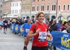 28th Venicemarathon: сторона дилетанта Стоковое фото RF