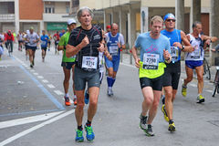 28th Venicemarathon: the amateur side Royalty Free Stock Photos