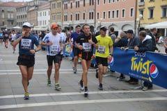 28th Venicemarathon: amatorska strona Obrazy Stock