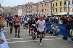 28th Venicemarathon: amatorska strona Zdjęcie Royalty Free