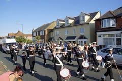 118th Whitstable狂欢节 免版税图库摄影