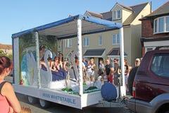 118th Whitstable狂欢节 免版税库存照片