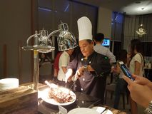 15th Wrzesień, Mercure Selayang Selangor koktajlu Hotelowy przyjęcie Zdjęcie Royalty Free