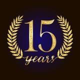 Sparkling glitter 15 anniversary