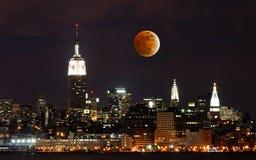 th york горизонта города новый стоковое изображение