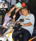 an thaï neuf de l'eau de festival Images libres de droits