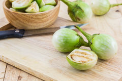 thaï vert d'aubergine Image stock